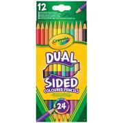 Crayola 12 Dual Sided Pencils (68-6100-E-000)