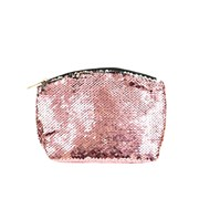 Sequin Costmetic Bag Asstd (73657)