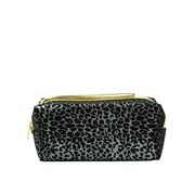Leopard Print Costmetic Bag Asstd (73659)