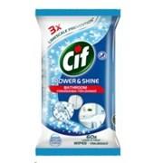 Cif Power & Shine Bathroom Wipes 60s (75436)