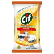 Cif Power & Shine Kitchen Wipes 60s (75438)