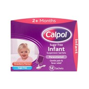 Calpol Sugar Free Infant 12x5ml (75475)