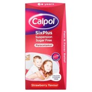 Calpol 6 Plus Sugar Free 80ml (75479)
