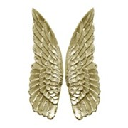 Angel Wings Champagne Gold 535mm (761347)