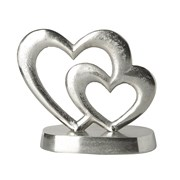 2 Hearts On Stand H180mm (790230)