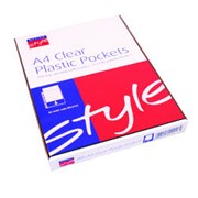 Office Style Clear Pocket 100s A4 (792235)