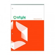 Office Style Rfll Pad Fnt Rld&mrgn A4 (792633)