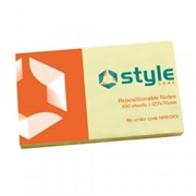"""Office Style Rpstnl Notes Yellow 5x3"""" (792641)"""