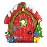 Fountasia Christmas Dorr - Bell/wreath (79522)