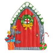 Fountasia Christmas Door - Candy Cane (79523)
