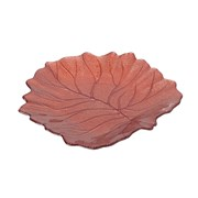 Autumn Leaf Dish Pink Pearl H35mm (810682)