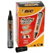 Bic Permanent Marker Chisel Tip Blk (8209263)