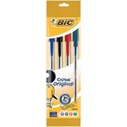 Bic 4xcristal Ball Pens Asst (8308621)