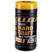 Draper Hard Graft Multi Purpose Wipes (20414)