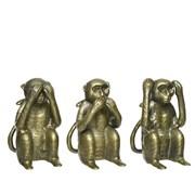 Aliminium Monkey Statue Assorted (847756)