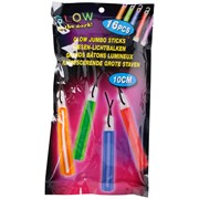 Glow Jumbo Sticks 16pc (01597)