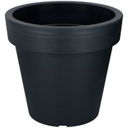 Edco Flower Pot Anthracite 390x361mm (02614)