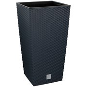 Edco Flower Pot Anthracite 33x33x61cm (02773)