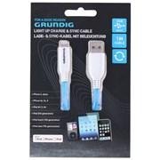 Grundig Iphone Cable Led Blue (86340)