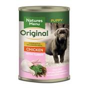 natures:menu Junior Natural Dog Food Cans Chicken & Turkey 400g (NMCJU)