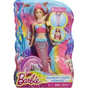 Barbie Rainbow Lights Mermaid Doll (900 DHC40)