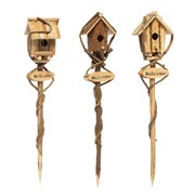 Bird House On A Stake 95x19x5cm Asst 95cm (93598)