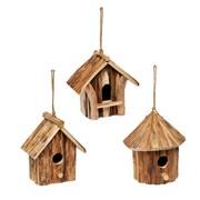 Bird House 19x11x20cm Asst 20cm (93599)