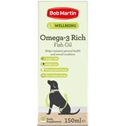 Bob Martin Omega 3 Rich Fish Oil 150ml (A0075)