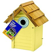 Gardman Beach Hut Nest Box Sage (A01685)