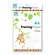 A4 Tracing Paper 10 Sheets (PAQ/3)