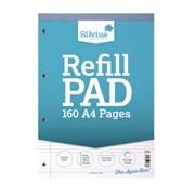 Silvine F/margin Refill Pad 80l A4 (A4RPFM)