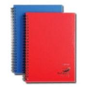 A5 Spiral Bound Notebook 80 Sheet Asst (OBS1004)