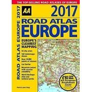 Aa  A4  Road Atlas Europe 2017 (77917)