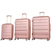 "Adelaide Hardshell Trolley Case Rose Gold 21"" (ABS325ROSEGOLD)"