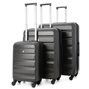 Adelaide Hardshell Trolley Case Charcoal 29""