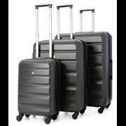 "Adelaide Hardshell Trolley Case Charcoal 25"""
