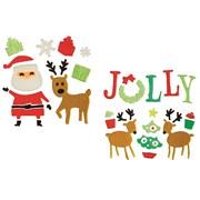 Premier Asst Santa Reindeer 25x20c (AC195783)