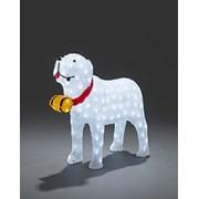 Acrylic St. Bernard Dog 160 Led (6263-203EE)
