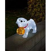 Acrylic St. Bernard Dog Led (6130-203)
