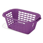 Addis Laundry Basket Purple (513234)