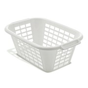 Addis Laundry Basket Wht (510610)