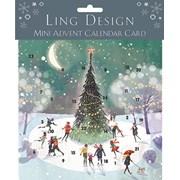 Advent Calendar Skating Around The Xmas Tree (ADV017)