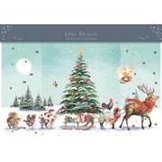 Advent Calendar 3d Wild Life Christmas Procession (ADV029)