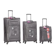 Canterbury Trolley Case Grey 26""