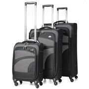 "Aero Trolley Case Black 26"""