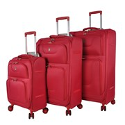 "Aero Trolley Case Red 26"""