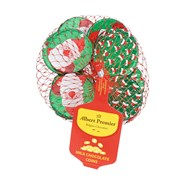 Albert Premier Foiled Christmas Santa Chocolate Coins 65g (AL500)