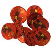 Albert Premier Foiled Reindeer Chocolate Coins 65g (AL503)