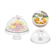 Rsw Cake Stand With Dome Cover 27cm (AM1739)