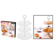 Rsw Glass 3 Tier Cake Stand 15/18/23cm (AM2647)